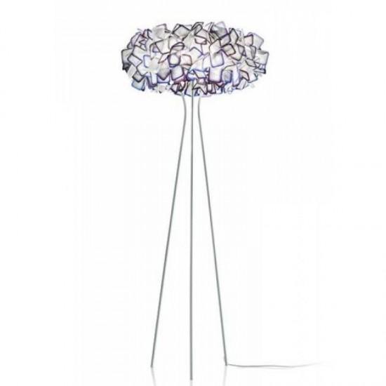 Floor lamp CLIZIA Purple