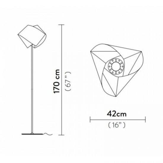 Floor lamp GEMMY