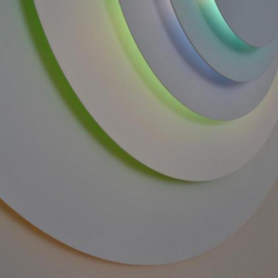 Ceiling-wall lamp Concentric M Ø 81.5 cm