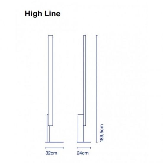 Floor lamp HIGH LINE