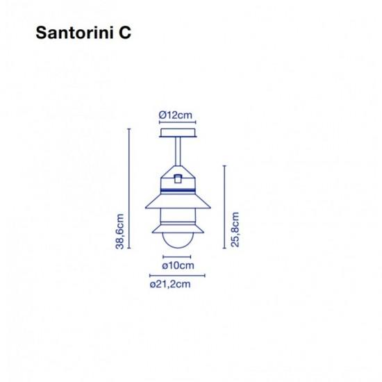 Ceiling lamp SANTORINI