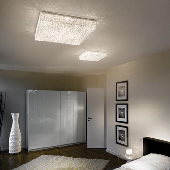 Ceiling lamp QUADRO PL8 Aluminum