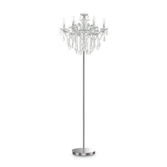 Floor lamp FLORIAN PT6 Chrome