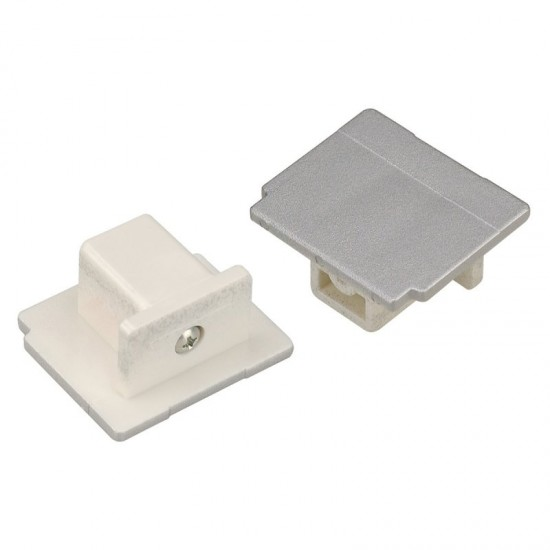 END CAP for EUTRAC 240V 3-phase surface-mounted track