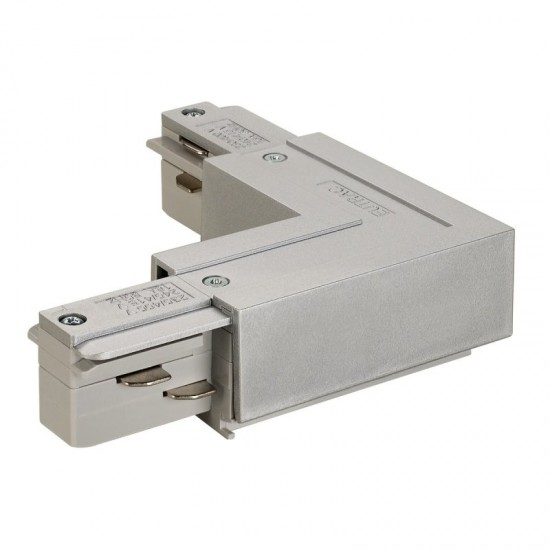 L-CONNECTOR for EUTRAC 240V 3-phase surface-mounted track