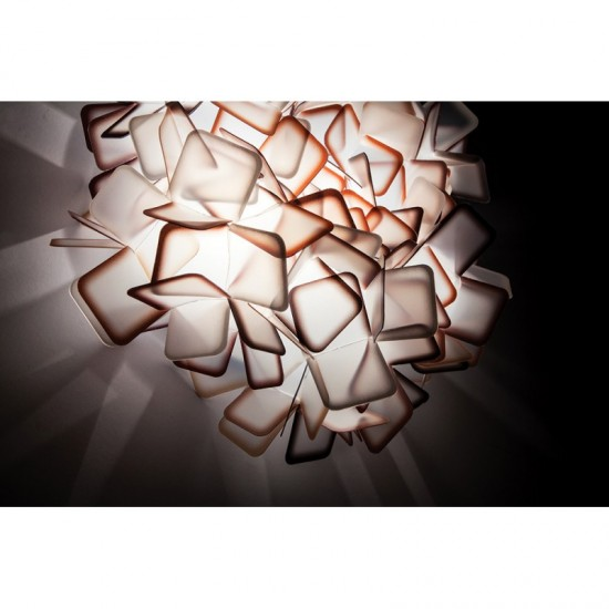 Ceiling-wall lamp CLIZIA White Large